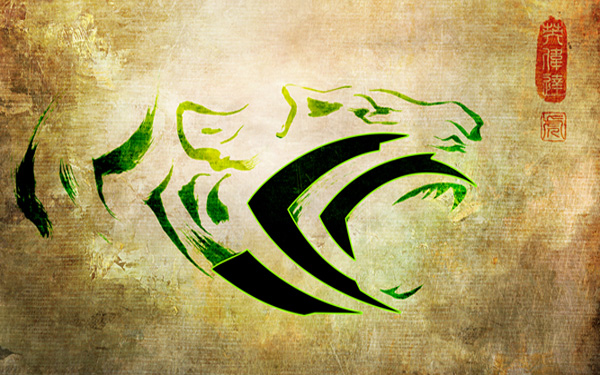 NVIDIA Year of the Tiger Wallpaper 1